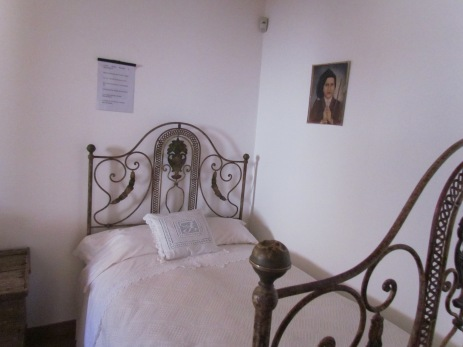 Bl. Francisco's bed